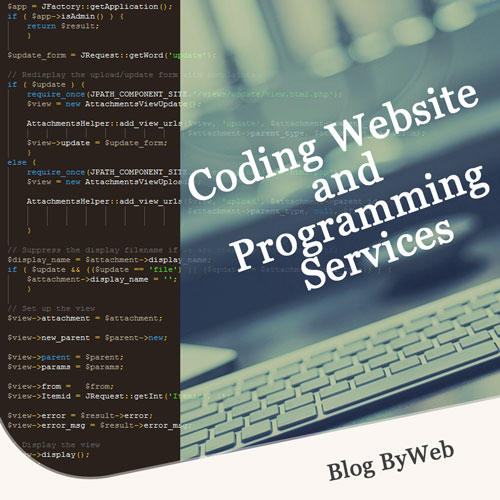 Coding Website and Programming Services