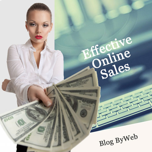 Effective online sales