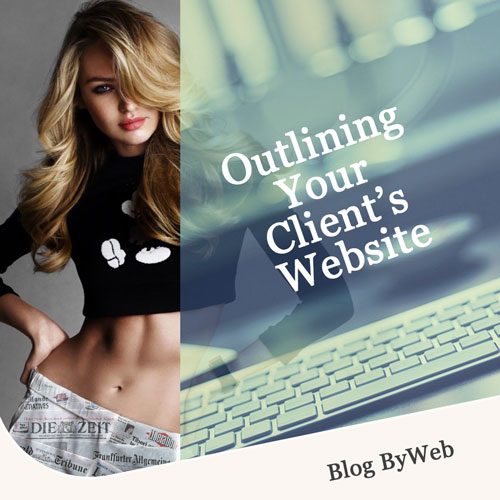 Outlining Your Client's Website